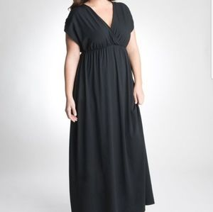 Lane Bryant Cap Sleeve Maxi-Dress
